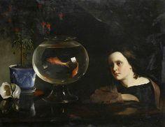 William Daniels - The Goldfish Bowl (1868)
