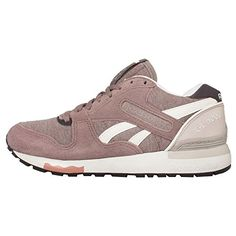 Reebok Women's GL 6000 Jersey, TAUPE/WHITE/PLM/CLY/CHALK - Little Shoe Boutique | Price: $112.00