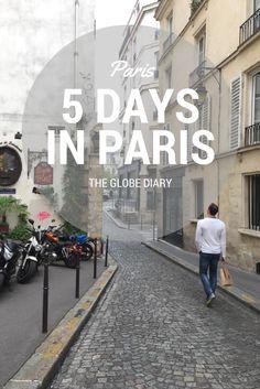 Paris, in 5 days!