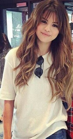 45 Best Hairstyles For Long Hair With Bangs - EcstasyCoffee