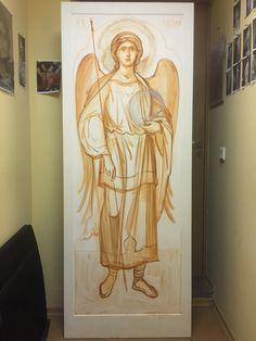 Byzantine Icons, Byzantine Art, Greek Icons, Celestial Sphere, Pre Raphaelite, Catholic Art, Art Icon, Orthodox Icons, Angel Art