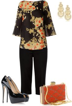 """Oriental"" by pollydickson ❤ liked on Polyvore"