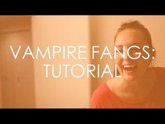 Vampire Fangs | DIY Tutorial - YouTube