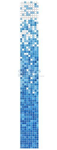 HotGlass   HAK-FB   Porcelain to Deep Blue   $4.31 / sq ft