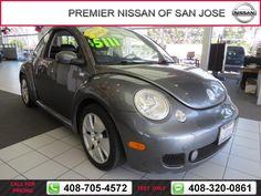 2003 Volkswagen New Beetle Coupe S $4,994  miles 408-705-4572 Transmission: Automatic  #Volkswagen #New Beetle Coupe #used #cars #PremierNissanofSanJose #SanJose #CA #tapcars