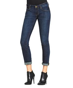 Look at this Comet Wash Tapered Boyfriend Jeans on #zulily today!