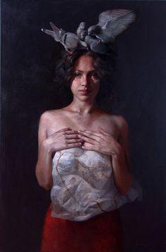 paintings by Ricardo Fernandez Ortega