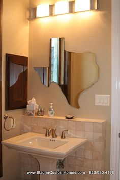 Texas shaped mirror!!!