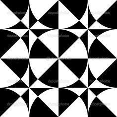 Op Art Designs | Seamless geometric op art design. — Stock Vector © Marina Glebova ...