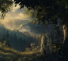 Company of Wolves | Illustration & Visual Storytelling by Marie Beschorner