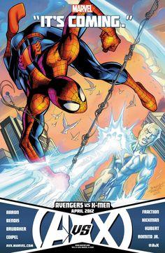 Spider-Man v. Iceman (Avengers vs. X-Men Limited Series)