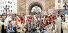تونس العاصمة هذا اليوم / خرجة بشارع بورقيبة احتفاء باليوم الوطنى للباس التقليدى | وكالة انباء البرقية التونسية الدولية