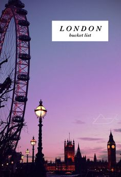 enchantedengland: The London Eye, Houses of Parliament and the Clock Tower London Eye, London Night, Places To Travel, Places To See, Cap Vert, Applis Photo, Houses Of Parliament, Parcs, London Travel