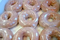 Krispy Kreme HOT Glazed Donut (Click through for 10 Iconic Fast-Food Items Worth Eating)