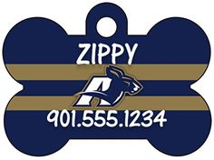 Akron Zips MAC Dog Tag Pet Id Tag Cat Tag Personalized w Name  Number *** Read more  at the image link.