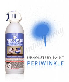 Our Caribbean Blue Fabric Dye Spray is kind to the environment, and your skin. This machine washable, quick drying, fabric spray paint is voted for a reason. Fabric Spray Paint, How To Dye Fabric, Fabric Painting, Rental Decorating, Blue Fabric, Lampshades, Periwinkle, Caribbean, Upholstery