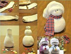 Faire une poupée mitaine ou poupée chaussette http://www.nafeusemagazine.com/Faire-une-poupee-mitaine-ou-poupee-chaussette_a1141.html