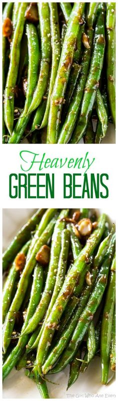 Green Beans - this Asian inspired sauce will make you beg for more. A great side dish for any occasion. the-girl-who-ate-Heavenly Green Beans - this Asian inspired sauce will make you beg for more. A great side dish for any occasion. the-girl-who-ate- Bean Recipes, Side Dish Recipes, Vegetable Recipes, Vegetarian Recipes, Cooking Recipes, Healthy Recipes, Dinner Recipes, Comida Latina, Vegetable Side Dishes