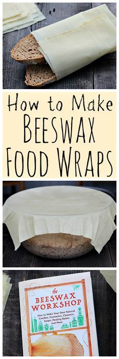 Make your own DIY beeswax food wraps, a greener alternative to plastic wrap!