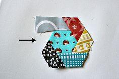 hexagon coaster tutorial. http://www.canoeridgecreations.com/2012/08/hexagon-coaster-tutorial.html