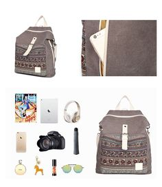 T29-3_04 Book Girl, Travel Backpack, Korean Fashion, Suitcase, Backpacks, Shoulder Bag, Handbags, Canvas, Women