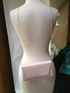 Vintage 1980s pastel pink handbag purse by RightBankGirl on Etsy, $53.11