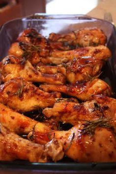 Sweet & Sticky Chicken Drumsticks