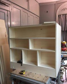 In process.. #woodworking #menuiserie #bespoke #surmesure #design