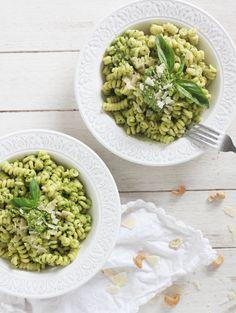 Tortellini au pesto et avocat #pâtes #pasta | Une Touche de Rose