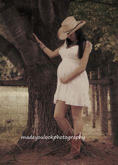 Maternity western style