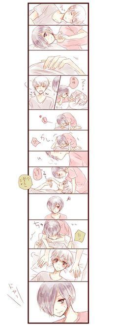 Kaneki x Touka // TouKen Awesome Anime, Anime Love, Tokyo Ghoul Season 1, Touka Kaneki, Beaux Couples, Ken Tokyo Ghoul, Tokyo Ghoul Wallpapers, Tamako Love Story, Another Anime
