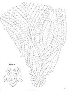 "Photo from album ""Вязаные салфетки"" on Yandex. Crochet Doily Diagram, Crochet Flower Patterns, Crochet Mandala, Crochet Chart, Thread Crochet, Filet Crochet, Crochet Motif, Crochet Designs, Crochet Doilies"