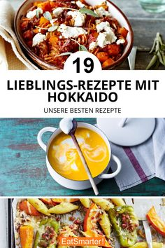 19 Lieblings-Hokkaido-Rezepte: Egal ob Suppe, Auflauf oder Pasta, wir lieben Hokkaido-Rezepte | eatsmarter.de #hokkaido #kürbis #rezepte Natural Yogurt, Healthy Protein, Nutritional Supplements, Calorie Diet, Food Cravings, Winter Food, Eating Habits, My Favorite Food, Food And Drink