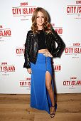 Millie Mackintosh attends an exclusive party to celebrate the imminent arrival of 'City Island by Ballymore' - a new island neighbourhood for London which will provide an important link between Canning Town and the City - at City Island on November 26, 2014 in London, England.