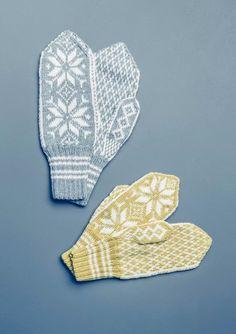 """Tema 42 SELBU"""" VOTTER VOKSEN Nr 25d """"Selbu"""" votter strikket i Sisu til dame og herre. Crochet Mermaid Blanket, Baby Girl Crochet Blanket, Crochet Mittens Free Pattern, Baby Knitting Patterns, Knit Mittens, Knitting Needle Case, Knitting Yarn, Norwegian Knitting, Knitted Hats Kids"""