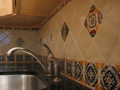 spanish tile kitchen backsplash 1000 ideas about mexican tile kitchen on 22123