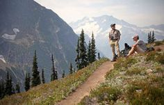 Great list with hikes ranging in difficulty. Only some allow dogs.