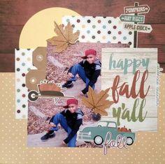 Happy Fall Yall by Monique Nicole Fox