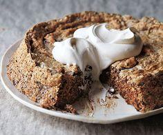 chocolate walnut tweed torte recipe