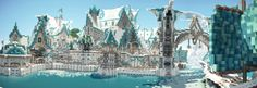 Elven City of Lothariel Minecraft Fantasy City Download Word Elven city Fantasy city Elf city