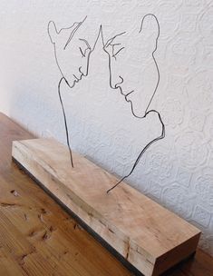 Gavin Worth tarafından yapılmış tel heykeller 4