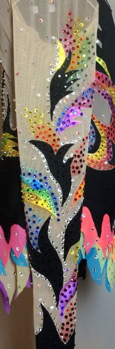 Rhythmic Gymnastics Competition Leotard SOLD by Savalia on Etsy
