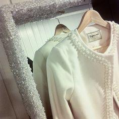 rhinestone-s: Perlebånd og ny jakke!