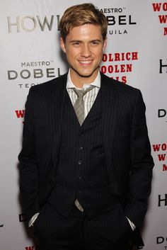 Yeah, he looks much better with shorter hair. Aaron Tveit