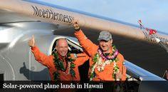 Blog de palma2mex : Avión Solar Impulse II rompe récords al aterrizar ...