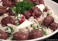This comes together quickly and is a unique spin on traditional Swedish meatballs.  Jamie O 15 min meals