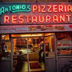 Antonio's classic pizzeria has been on Flatbush Avenue in Brooklyn since 1950.