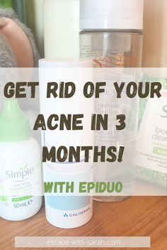 My three month journey using Epiduo Gel on my acne. How I got rid of my acne in only three months! Acne Skin, Acne Prone Skin, Acne Scars, How To Use Makeup, Simple Face, Benzoyl Peroxide, It Gets Better, How To Get Rid Of Acne, Best Blogs
