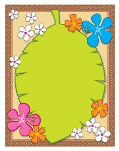 MARCOS Y TARJETAS - Syama Olivo - Picasa Web Albums  :) School Border, Boarder Designs, Hawaian Party, Boarders And Frames, Scrapbook Frames, School Frame, Cute Frames, Page Borders, Frame Background