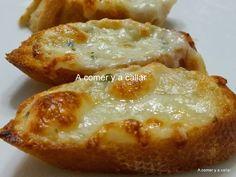 Hoy receta fácil para las cenas de picoteo del fin de semana. Si te gustó el pan de ajo PINCHA AQUÍ PARA VER LA RECETA , estos crostinis ...